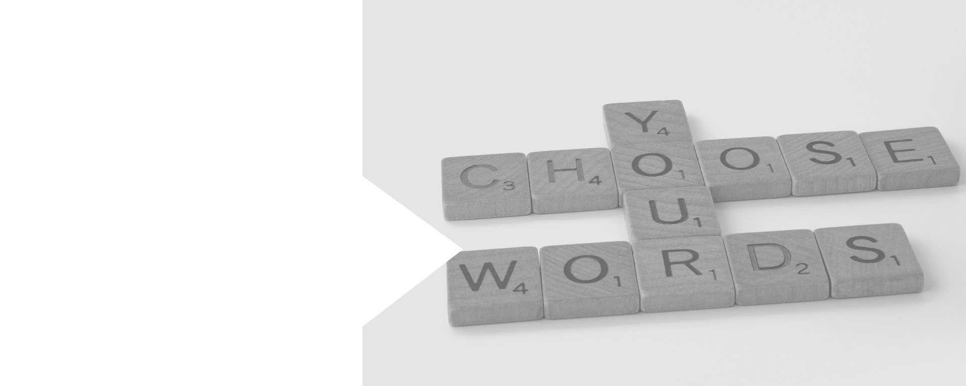 Keywords Worte Buchstaben Schlüsselworte im Internet