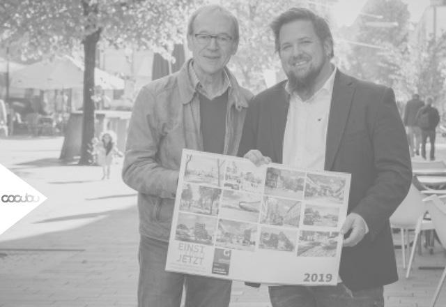 Fotograf Attila Melzer und Grafik Designer Kornelije Casni