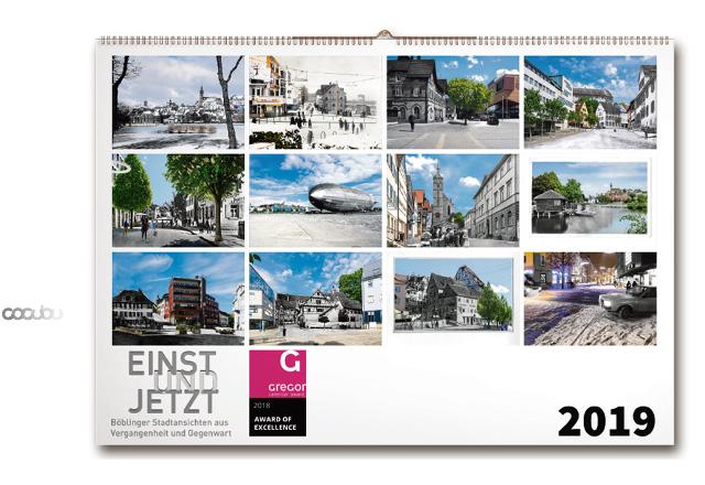 Kalender einst und Jetzt, Böblingen