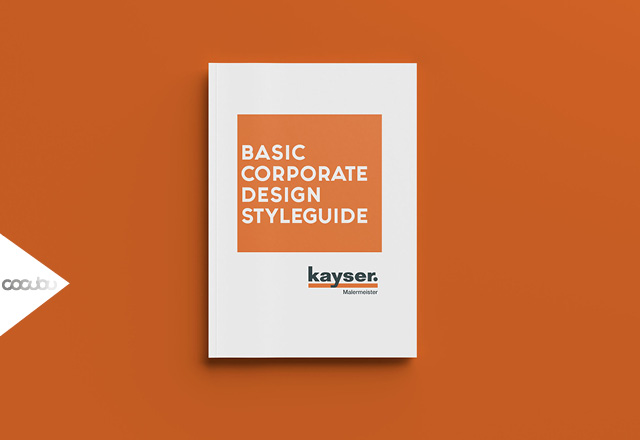 Corporate Design, Styleguide, Design, Basic, Branding, Brandbuilding