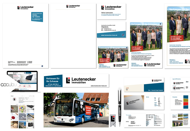 Corporate Design, Werbung, Blickfang, Werbewirkung, Ludwigsburg, Immobilien